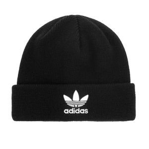 Adidas Black Trefoil Beanie Cap Hat